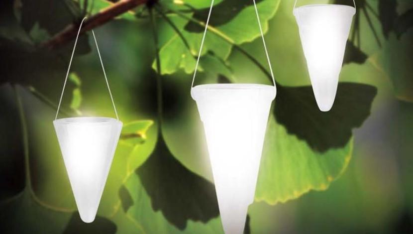 Hängende Solarleuchten Für Den Garten. U003e